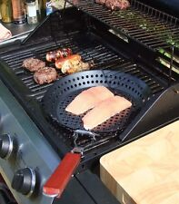 BBQ Frying Pan with Fold Away Handle - 30cms