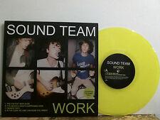 """SOUND TEAM   Work  10""""    Indie  coloured vinyl   NEAR-MINT !"""