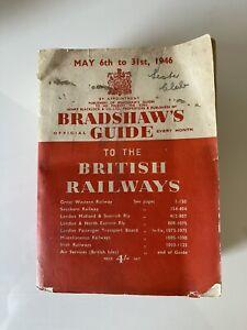 Dec 1946 Original Bradshaws Railway Guide & Hotel Directory Timetable Handbook