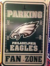 Philadelphia Eagles Fan Zone Parking Sign - New Item!