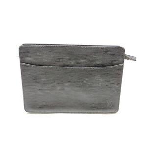 Louis Vuitton LV Clutch Bag M52522PochetteHomme Black Epi 1430668