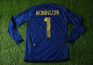 ENGLAND ROBINSON 2006-2008 FOOTBALL SHIRT JERSEY GOALKEEPER UMBRO ORIGINAL YOUNG