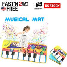 Gift~Musical Music Kid Piano Play Baby Mat Animal Educational Soft Kick Toy USA