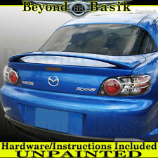 Mazda RX8 RX-8 2004 2005 2006 2007 2008 OEM Factory Style Spoiler Wing UNPAINTED
