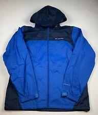 Columbia Omni-Shield Packable Rain Wind Resistant Jacket Hooded Men's Sz M