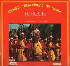 "MUSIQUE DU MONDE ""TURQUIE"" LP MUSIDISC CV 1108"