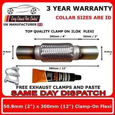 """ILOK Escape Tubo flexible 12""""x2"""" Flexible Reparación 50mm X300 Cable"""
