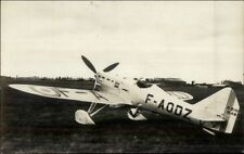 Dutch Netherlands Military Aviation Airplanes Real Photo Postcard #1