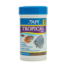 API Tropical Pellets 117 g Nutrition Fish Food for Tetras Barbeaux Discus & plus