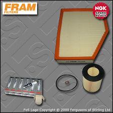 Kit De Servicio De Bmw Serie 5 520i E60 E61 M54 Fram Aceite Filtros De Aire enchufes (2003-2007)