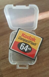 Kodak 64MB CompactFlash Card in Case