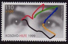 Germania 1999 KOSOVA raccolta di beneficenza SG 2899 Gomma integra, non linguellato