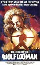 Legend Of The Wolf Woman Poster 01 Metal Sign A4 12x8 Aluminium