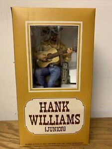 Hank Williams Jr. McCormick Whiskey Music Box Decanter With COA Empty MINT