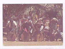 Kenya ,Giriama Drummers, A Mint Postcard, About 1980