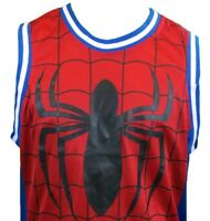 SPIDER-MAN Men's Basket ball Jersey- SPIDEY MARVEL Homecoming NWT - L, XL, 2XL