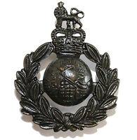 New OFFICIAL Royal Marines CAP BADGE Bronze ( Beret Badge Commando SBS Marine