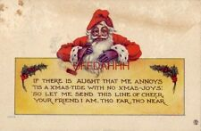 1915 IF THERE IS AUGHT THAT ME ANNOYS 'TIS A XMAS-TIDE WITH NO XMAS JOYS