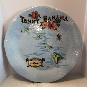 "TOMMY BAHAMA 100% Melamine 19"" Paradise  Hawaiian Islands Serving Platter.  WOW!"