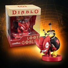 Blizzard Diablo III Loot Goblin Amiibo Figure Nintendo Switch