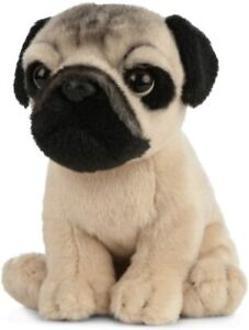 Living Nature Pug Puppy Soft Toy 16cm
