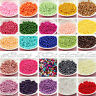 Lots Czech Glass Pearl Round Loose Beads Craft Jewelry Multicolor 4/6/8/10/12mm