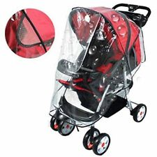 Standard Stroller Rain Cover Clear PVC Baby Stroller Cover Waterproof Cover