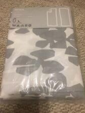 New ListingIkea Petra Pair Window Drapes Curtains 57�x118� With Hem Tape 100% Cotton New