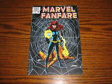 MARVEL FANFARE #10 - BLACK WIDOW!!  1983 Glossy VF
