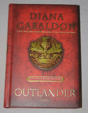 SIGNED - Outlander by Diana Gabaldon 20th Anniversary edition Autographed + CD
