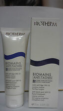 BIOTHERM BIOMAINS ANTI-TACHES 75ml SPF 15 NUTRIZIONE INTENSA RINFORZANTE UNGHIE