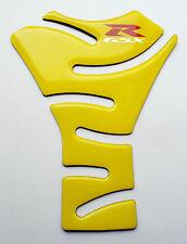 Lemon Yellow Glossy Tank Protector Pad Sticker fits Suzuki GSX-R600 600 GSXR GSX