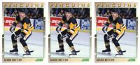 (3) 1991-92 Score Young Superstars Hockey #22 Mark Recchi Card Lot Penguins