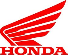 Honda Sticker Red Decal 2.5 x 3 inch New