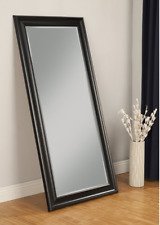 Large Full Length Floor Mirror Beveled Dressing Wall Standing Lounge Bedroom New