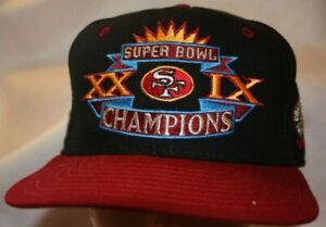 SF 49ERS Football Team Snapback Cap Embroidered Logo Vintage 016 Superbowl XXIX