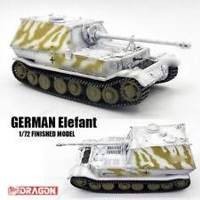 DRAGON WWII GERMAN Elefant 1/72 tank model finished non diecast