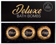 BRUBAKER 'Deluxe' XXL Boules de bain effervescentes Coffret cadeau 3 Pièces