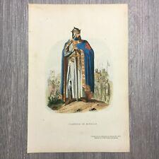 Théodore Juste-Histoire de Belgique-gravure-1868- Godefroid de Bouillon