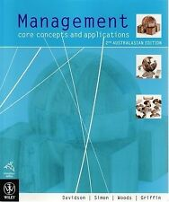 Management: Core Concepts and Applications by Paul Davidson (Paperback, 2008)