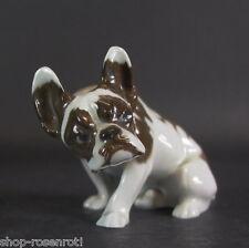 Rosenthal  Kunstabteilung  - Hund Bully Bulldogge