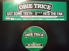 "OBIE TRICE + EMINEM + DR. DRE - GOT SOME TEETH / SH*T HITS THE FAN (12"")  2003!!"