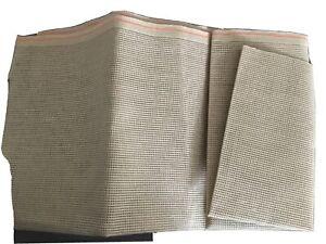 Stramin, braun, 100x40cm, 40 Loch/10cm