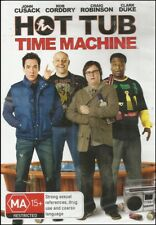 HOT TUB TIME MACHINE John CUSACK Craig ROBINSON Rob CORDDRY Comedy DVD NEW Reg 4