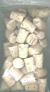 100 # 10 NATURAL TAPER CORKS MADE IN PORTUGAL!  XX QUALITY! BARGAIN PRICE!