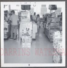 Vintage Photo Cigarette Display in Roaside Grocery Store Market 742259
