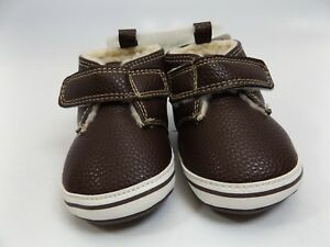 Little Me Brown BABY BOOTS Size 3.0 Toddler Boy NEW DISPLAY M853