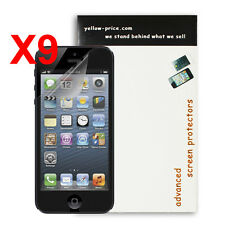 iPhone 5S Screen Protector,for iPhone 5, 5S, 5C Ultra HD Clear (Invisible) 9 Pcs