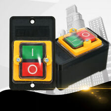AC 220V / 380V KAO-5 Waterproof Oilproof Push Button ON / Off Switch 2 Screws
