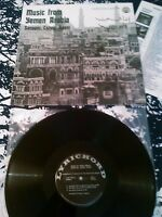 SANAANI LAHEJI ADENI - MUSIC FROM YEMEN ARABIA LP N. MINT!!! IN SHRINK LYRICHORD